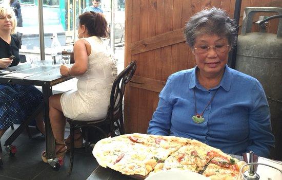 Ca de Vin: Quelle pizza !