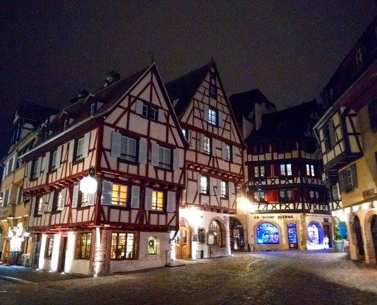 Superbe maison alsacienne fresque int rieure avec un - Fer rouge colmar ...