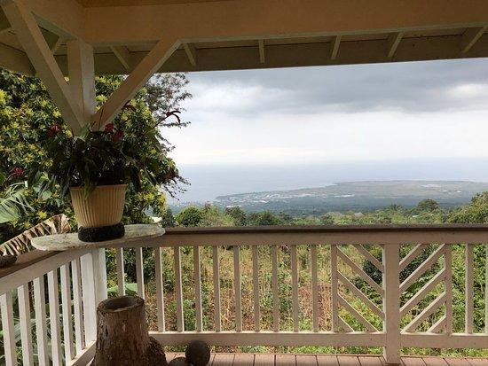 Lilikoi Inn: Beautiful view from the lanai