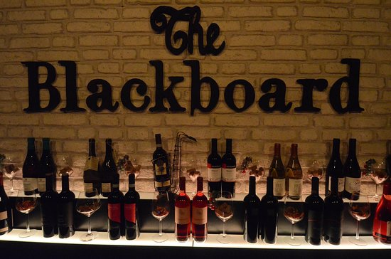 The Blackboard: The Bar
