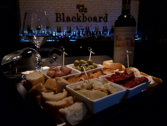 The Blackboard: The Antipasti