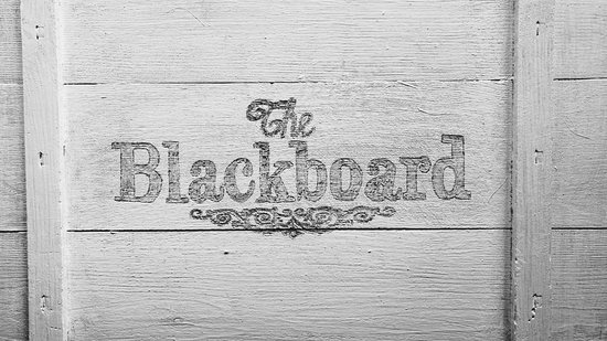 The Blackboard: The Wall