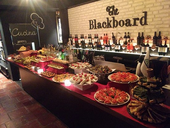 The Blackboard: The Buffet