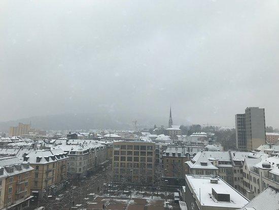 Swissotel Zurich: view
