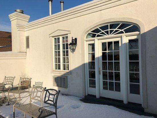 Riverbend Inn and Vineyard: Terrace