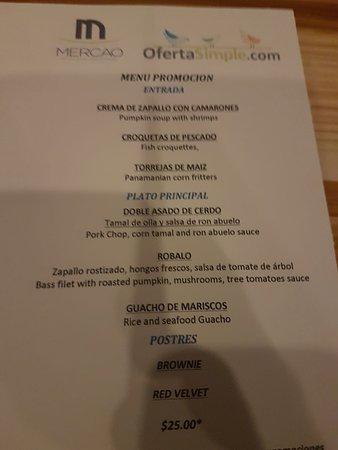 Mercao Restaurant: Una oferta frustante