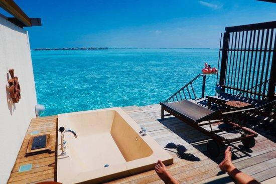 Paradise Island Resort & Spa: taras
