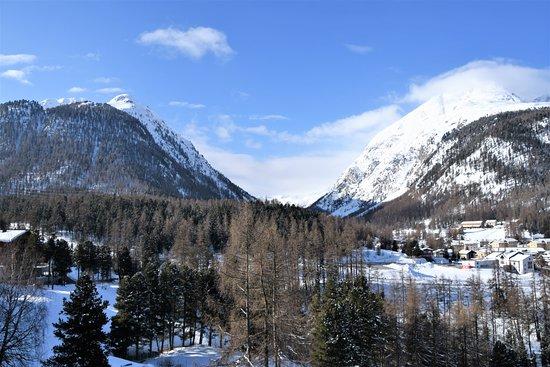 Hotel Saratz: Roseg glacier