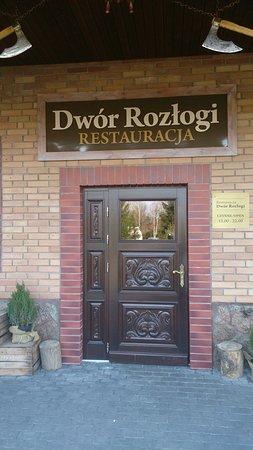 Zielonka, Polen: wejście do restauracji