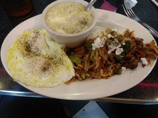 The Diner: Hippie hash, eggs and grits