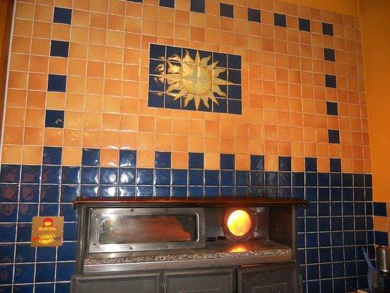 San Giusto Canavese, Italia: Pizzeria con forno a legna rotante!!!