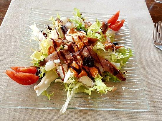 Darnius, إسبانيا: Salade Xanotada