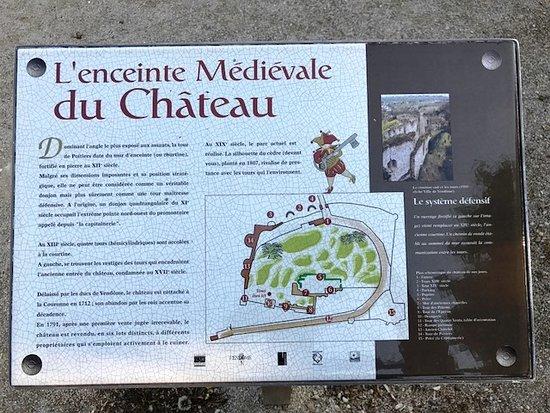Château de Vendôme: Übersichtsplan