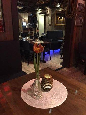Från våran restaurang