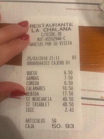 Restaurante La Chalana: photo0.jpg