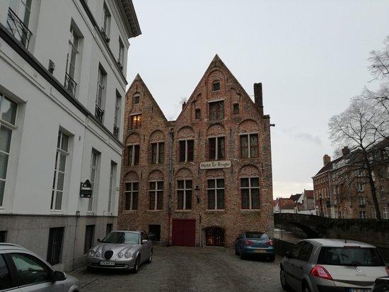 Hotel Ter Brughe: La facciata dell'hotel