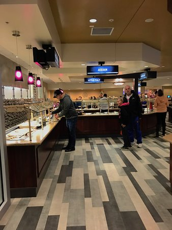 The Gathering Place: one part of the buffet