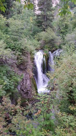 Roughlock Falls State Nature Area: The Falls