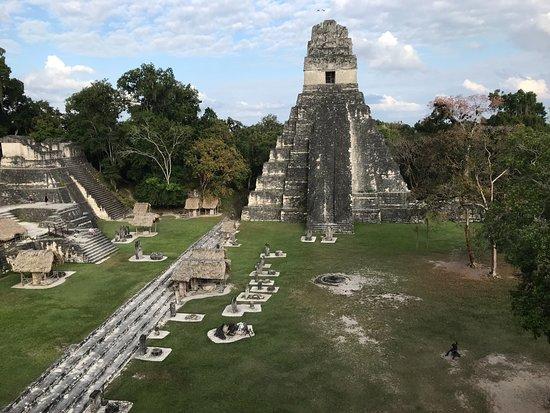 Pacz Tours : Tikal, one of several plazas. 3/16/18