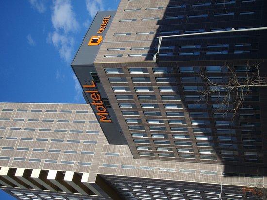 Alvsjo, Sweden: Outside look of hotel