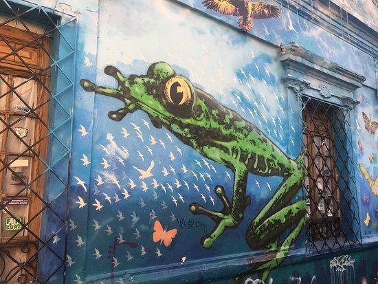 Plaza Del Chorro Del Quevedo: mural