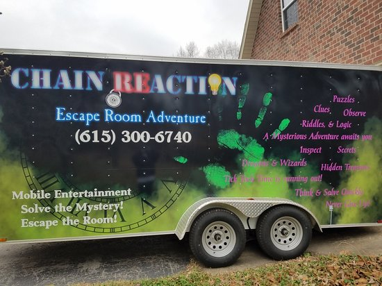 Lebanon, TN: Chain ReAction Mystery Adventures  Mystery Adventures / Escape Room