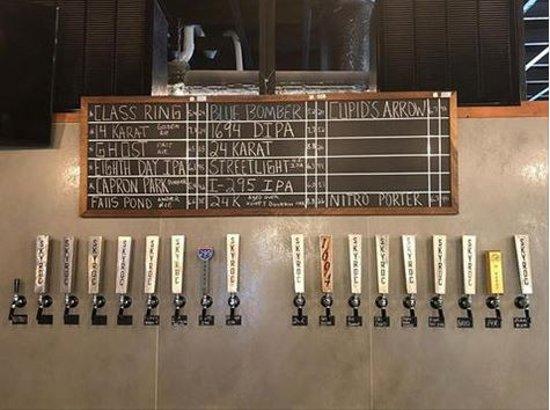 Attleboro, MA: Beer list