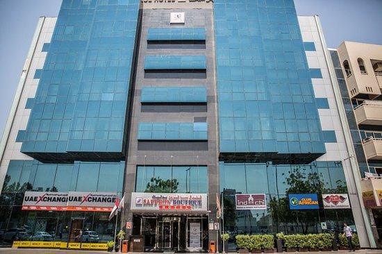 Guest room picture of saffron boutique hotel dubai for Saffron boutique hotel dubai location