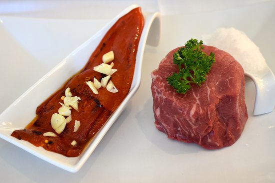 Bellmont Spanish Restaurant: Black Angus beef w/ Piquillo Red Peppers