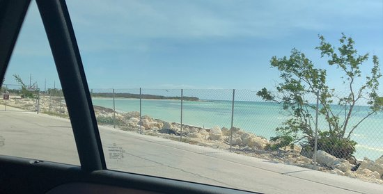 Bahia Honda State Park and Beach: Oceanside completely fenced off