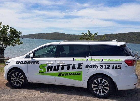 Nelson Bay, أستراليا: Comfortable Shuttle Service