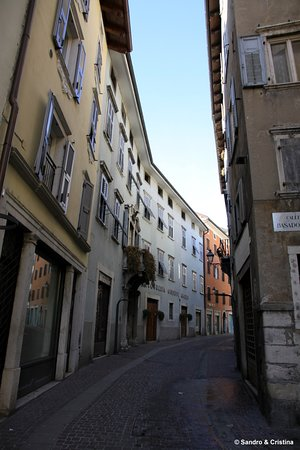 Rovereto, Italie : Via Mercerie