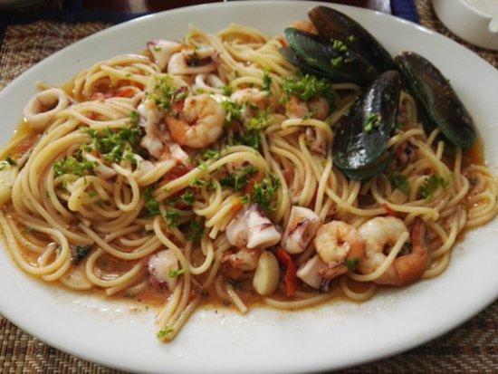 The Spaghetti House: Spaghetti seafood