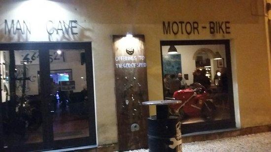 Bar Man Cave Jesi : Large g picture of man cave cafe jesi