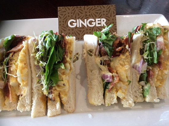 Richmond, New Zealand: Delicious club sandwiches