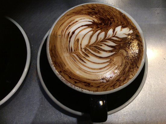 Richmond, Yeni Zelanda: Coffee art