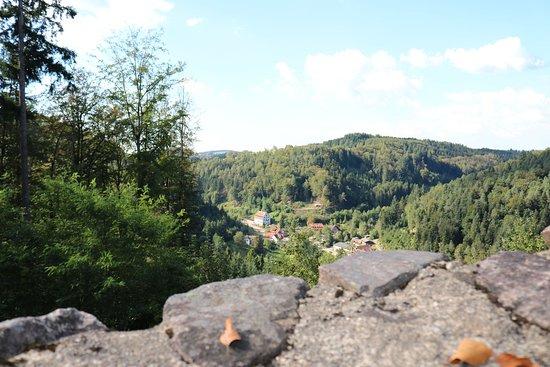 Freiamt, Jerman: Aussicht von der Burgruine Keppenbach