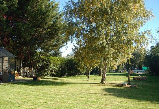 Saint-Genouph, France: jardin