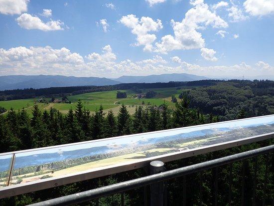 Freiamt, Jerman: Aussicht vom Hünersedelturm