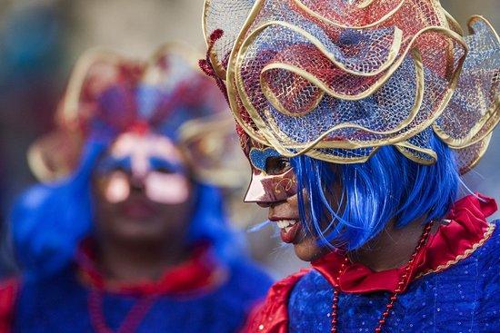 French Guiana: Carnaval de Guyane, masque de Touloulou