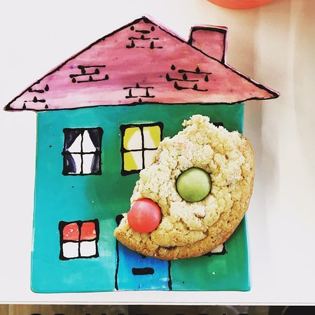 Skibbereen, Irlandia: Cookie plates and homemade cookies