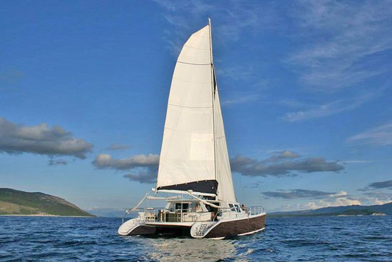Gouvia, Grecia: Our Catamaran Caribe 69