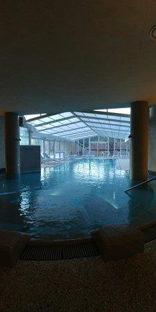 Monteverdi Marittimo, إيطاليا: piscina interna