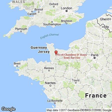 Tessy-sur-Vire, Francja: Easy access from England
