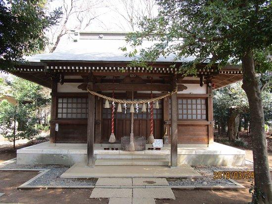 Tsurugashima, Japón: 拝殿の正面
