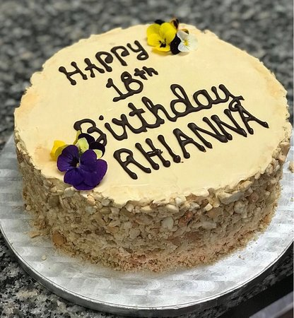 Romulo Cafe Personalised Birthday Cakes