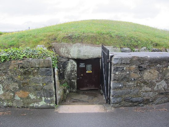This is the entrance to the Dehus Dolmen