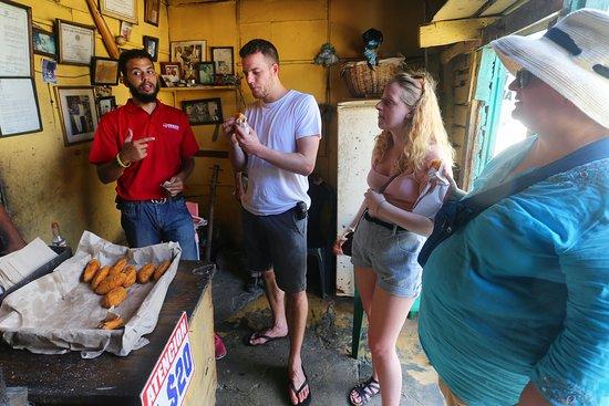 Food tasting Puerto Plata Vintage tour