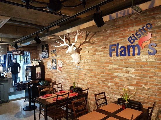 Flam's Bistro focuses on regional specialties from South Germany, France and Alsace