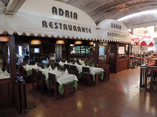 Restaurante Adria: Eingang